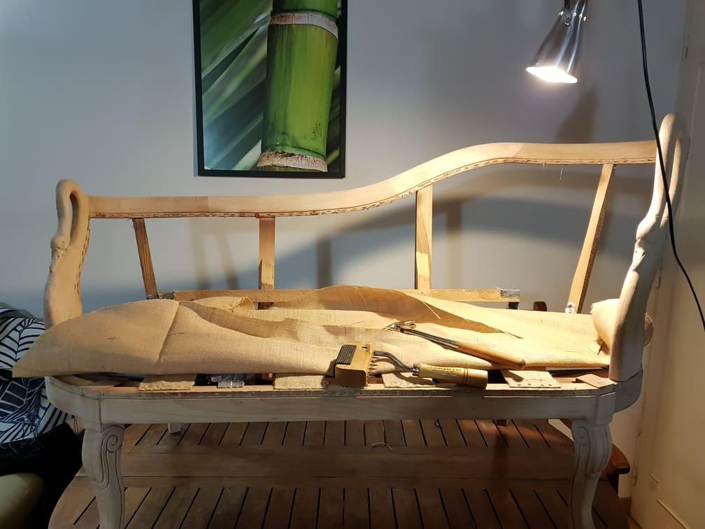 restauration de siège