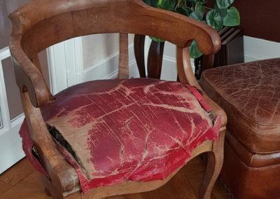 restauration de sièges